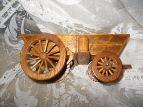 Vintage Western Wagon Planter or Decoration