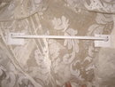 Vintage  White Metal Towel Rod  **Wall Mount**