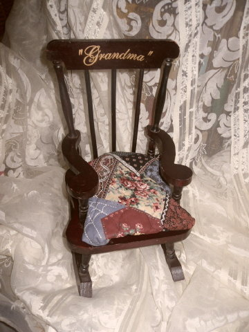 Doll Rocking Chair