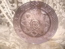 Vintage Purple Glass Dinner Plate