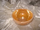 Vintage  Fire King Peach Luster Chili Bowl