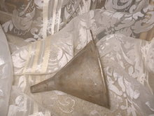 Vintage  Metal Oil Funnel