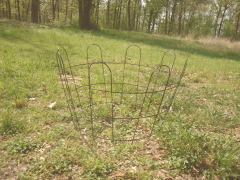 Vintage LARGE Machine Age Industrial Metal Wire Basket
