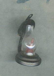 Vintage Kerosene Lamp Miniature