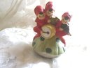 Vintage Musical Porcelain Pixie Figurine