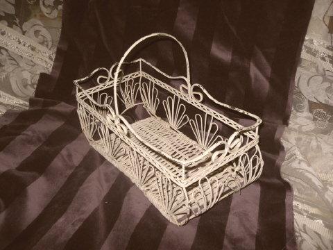 Vintage Decorative Wire Basket
