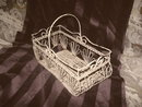 Vintage Decorative Wire Basket