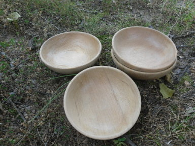 Wooden Salad Bowls  **Set of 4**
