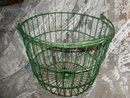 Large Vintage Metal Wire Basket w/Metal Handle