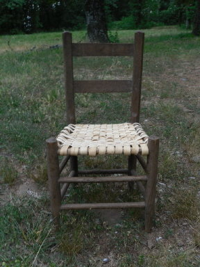 Antique Ladder Back Chair  **Small Size