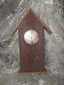 Apple Bird House Clock Home Interiors & Gifts