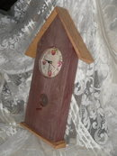 Apple Bird House Clock Home Interiors & Gifts