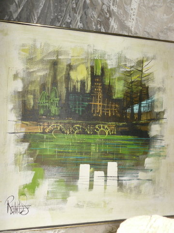 Lee Reynolds Original Abstract Painting