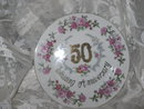 Vintage 50th Wedding Anniversary Plate