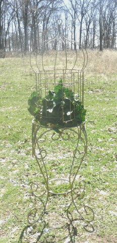 Charmant Homco Home Interior Bird Cage W/ Stand
