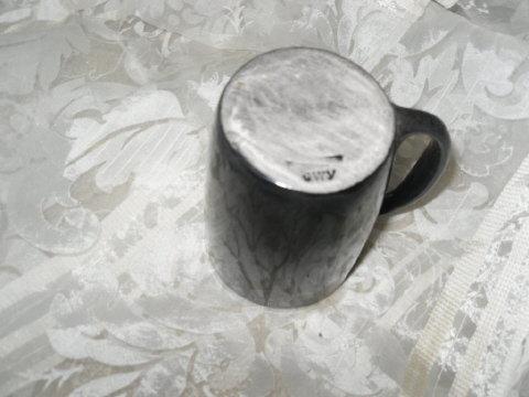 Black Clay Cherokee Pottery Mug