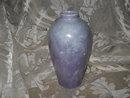 Vintage Purple Lusterware K.B. Porcelain Vase