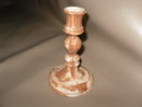 Vintage South Dakota Pottery E. Cahoy Candlestick