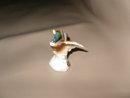 Vintage Miniature Mallard Duck Figurine