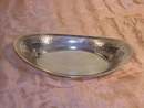 Bread Tray Antique Sterling Gorham Reticulated 1908