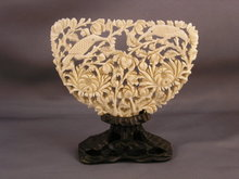 Antique Chinese Ivory Carving