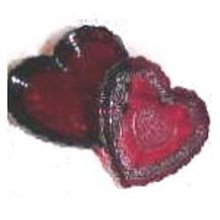 Avon Ruby Red Heart Trinket Box