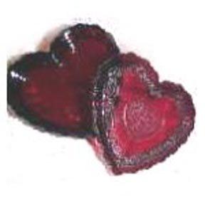 Avon Ruby Red Heart Trinket Box