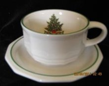 Pfaltzgraff Christmas Heritage Cup and Saucer
