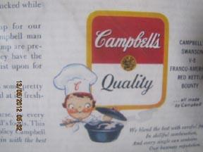 Campbell's Soup 1925 Magazine Ad