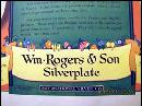 Wm. Rogers & Son Silverplate Magazine Advertisement