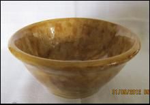Rockingham Yellow Ware Bowl