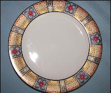 House of Lloyd Christmas Platter - Cathedral Window Platter