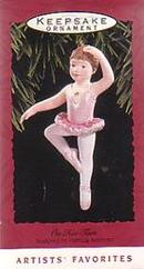 Ballerina Ornament Hallmark