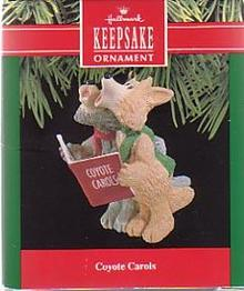 Hallmark Coyote Carols Christmas Ornament