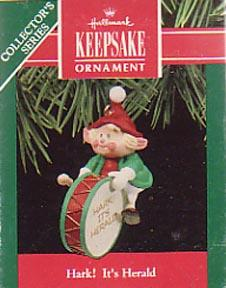 Christmas Ornament  Hallmark Hark! It's Herald