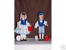 Dolls Jack and Jill  Effanbee Storyland
