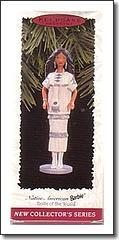 Christmas Ornament Native American Barbie