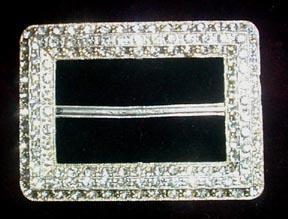 Vintage Silvery Rhinestone Buckle