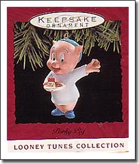 Hallmark Looney Tunes Christmas  Ornament - Porky Pig