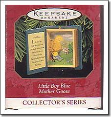 Hallmark Nursery Rhyme Christmas Ornament - Little Boy Blue