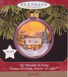 Warmth of Home Hallmark Ornament Thomas Kincaide