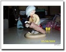 Golfer Figurine Mabel Lucie Attwell Memories of Yesterday