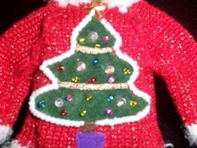 Christmas Ornament  Hallmark Lighted - Merry Glitzmas! 2003