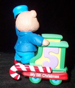 Christmas Ornament  Hallmark - Child's Fifth Christmas  2003