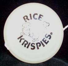 Rice Krispies Advertising Duncan Glow Imperial Yo-yo