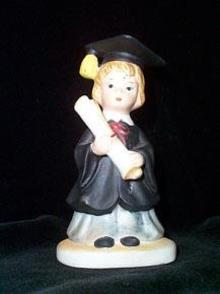 Girl Graduate Figurine Lefton