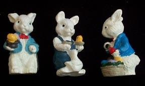 Lead Easter Bunnies