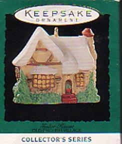 Hallmark Miniature Christmas  Ornament - Tudor House