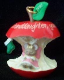 Hallmark Christmas  Ornament - Granddaughter 1992