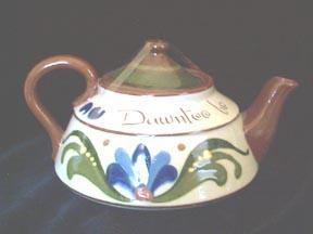 Teapot Mottoware Longpark Torquay